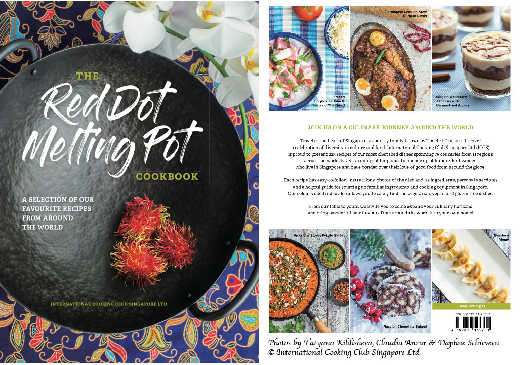 The red dot melting pot cookbook international cooking club singapore forumfinder Image collections