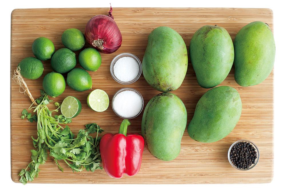 costa rican mango ceviche  international cooking club